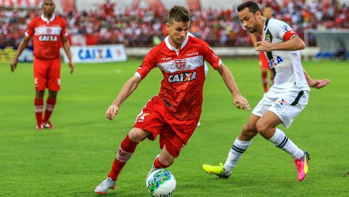 CRB x Vasco, Estádio Rei Pelé - Matheus Galdezani e Nenê (Foto: Ailton Cruz/Gazeta de Alagoas)