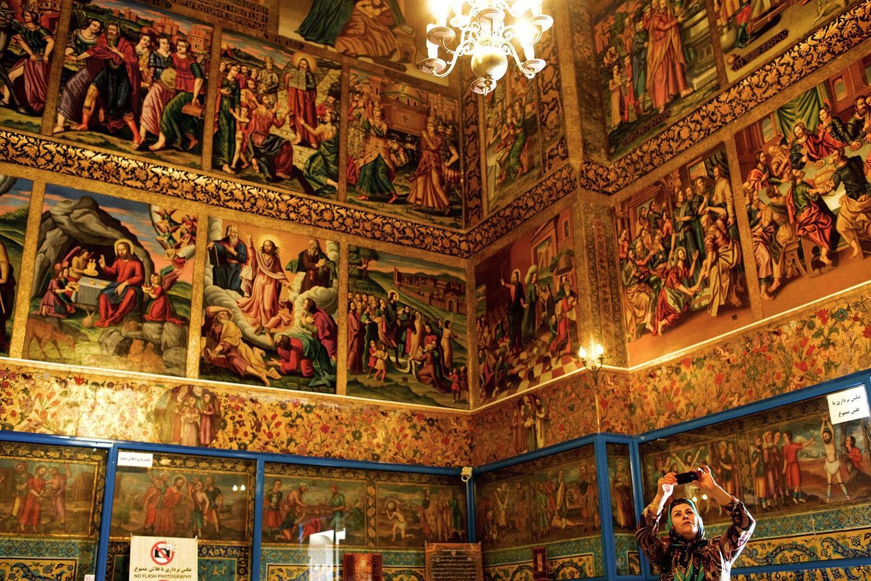 Catedral Vank, em Isfahan (FOTO: REPRODUÇÃO)