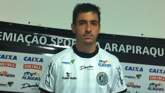 Lucas Pavone, reforço do ASA (Foto: Cláudio Barbosa/Arquivo pessoal)