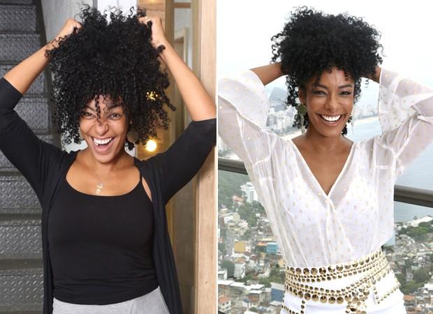 Aline Prado: antes e depois (Foto: Daniel Janssens/Divulgação)