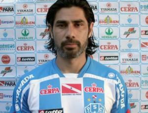 Josiel, jogador do Paysandu (Foto: Reprodução/Site Oficial do Paysandu)