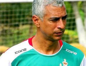 Neemias Santos, técnico do Real Noroeste (Foto: Leonhard Silva)