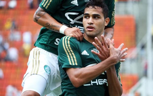 Alan Kardec gol, Corinthians x Palmeiras (Foto: Marcos Ribolli)