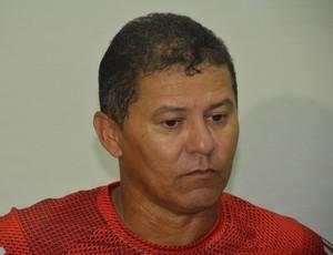 Ramiro Souza; treinador; Santa Cruz; (Foto: Amauri Aquino / GloboEsporte.com/pb)