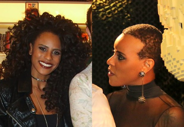 Aline Wirley antes e depois (Foto: Manuela Scarpa/Brazil News e Fabio Moreno/AgNews)