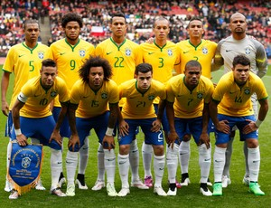 Brasil x Chile, Emirates Stadium (Foto: Reuters)
