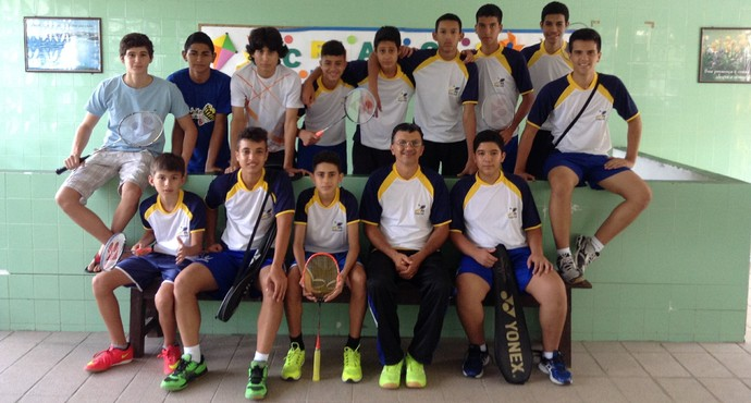 Seleção paraibana de badminton (Foto: Divulgação / FebaPB)