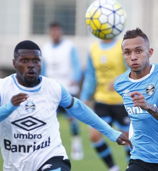 CHAMA A GURIZADA (Lucas Uebel / Grêmio / Divulgação)