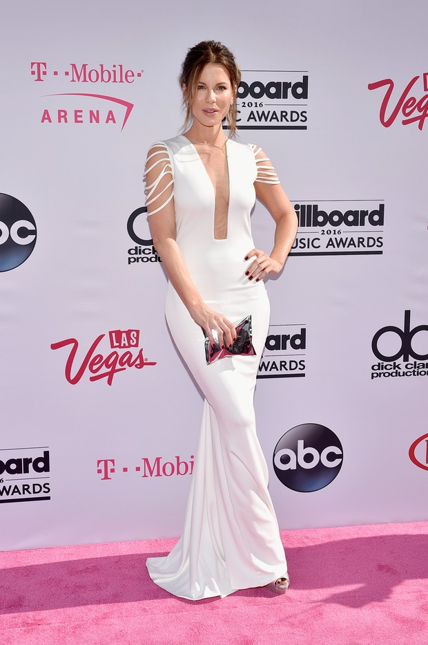 Kate Beckinsale no Billboard Music Awards (Foto: AFP)
