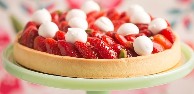 torta de morango (Foto: torta de morango)