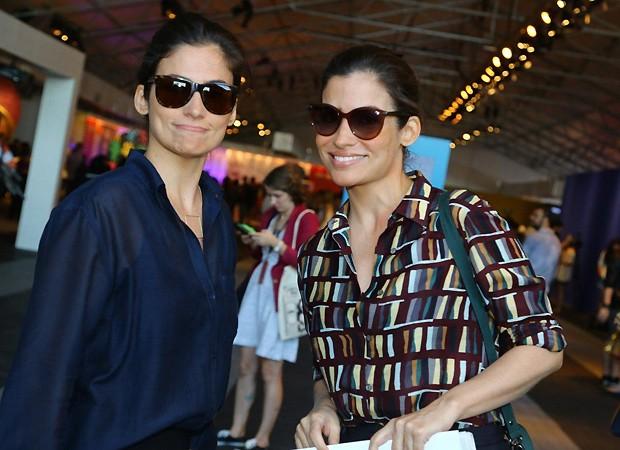 Lanza e Renata (Foto: Ag News)