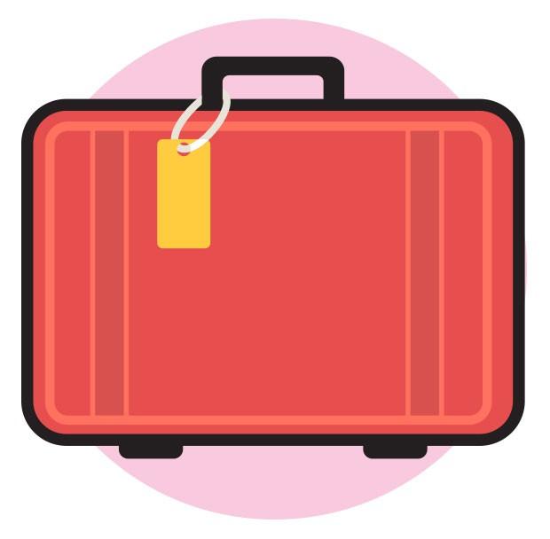 5. Onde colocar | Existem diversos modelos de malas de maternidade no mercado, para todos os gostos e bolsos. Mas, se quiser economizar, use alguma mala ou bolsa de viagem que tiver em casa mesmo – lembre-se apenas de limpá-la e deixá-la ao sol antes. Até (Foto:  )