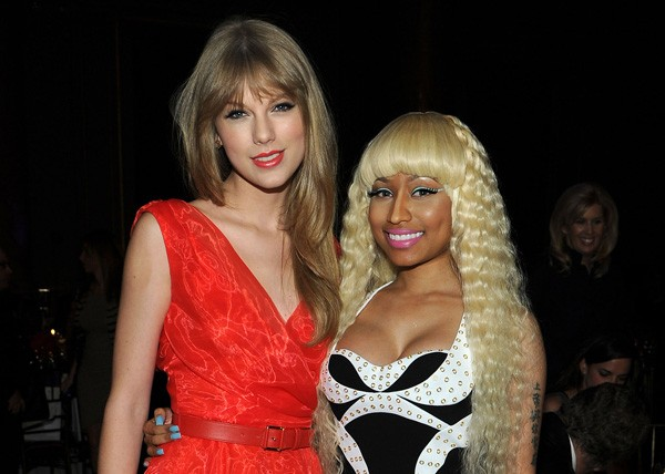 Taylor Swift e Nicki Minaj (Foto: Getty Images)