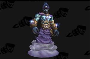 Personagem de expansão de 'World of Warcraft' pode ser homenagem a Robin Williams, parecendo-se com o Gênio de 'Alladin' (Foto: Reprodução/Wowhead.com)