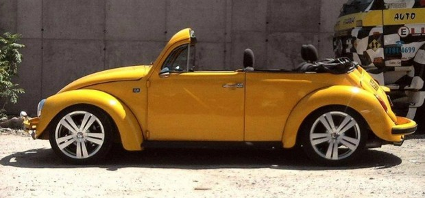 Volkswagen Fusca Conversível (Foto: Arquivo Pessoal)