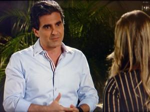 Abelardo tenta se declarar para Bernadete  (Foto: Malhação / TV Globo)