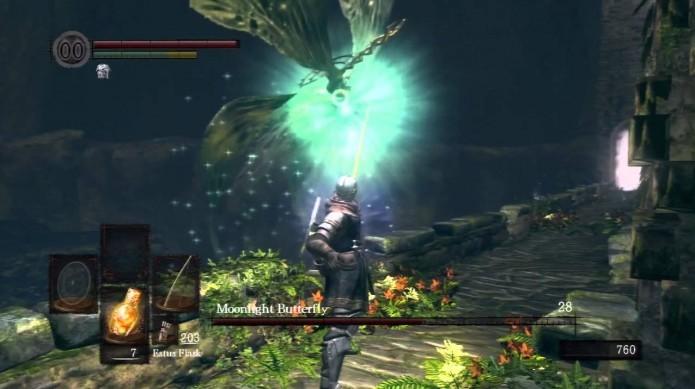 As Orbs de energia de Moonlight são capazes de seguir seu personagem (Foto: Reprodução/Youtube)