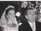 Grazi Massafera faz homenagem a Umberto Magnani na web