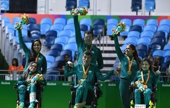 Ouro na bocha paralímpica, Evelyn Oliveira já treina de olho no Regional
