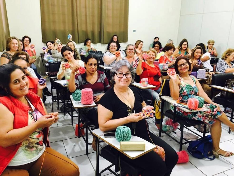 Workshop realizado pela Eurofios (Foto: Divulgação)