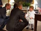 Roupão que príncipe George usou para conhecer Obama está esgotado