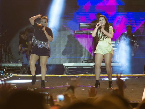 As canções das irmãs Maiara e Maraisa estão entre as mais tocadas no Brasil (Foto: Érico Andrade/G1)