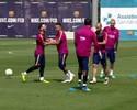 Com animação de Messi e Neymar, Barça volta aos treinos para decisão