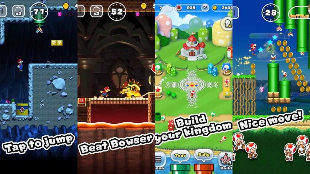 'Super Mario Run' é aposta da Nintendo no ramo de games para celulares (Foto: Divulgação/Nintendo)