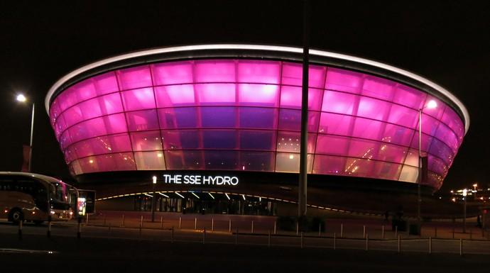 Hydro Arena é o palco do Mundial de ginástica artística (Foto: Marcos Guerra)