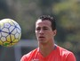 Damião evolui, mas não pega Cruzeiro e é dúvida contra Palestino na quarta