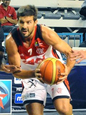 Laprovitolla Flamengo X Halcones Rojos, liga das americas de basquete (Foto: Marcelo Figueras / FIBA Americas)