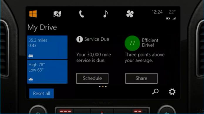 Cortana pode causar distrações se emitir muitos alertas para motorista (Foto: Divulgação/Microsoft)
