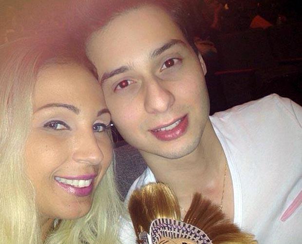 Valesca e o namorado (Foto: Arquivo pessoal)