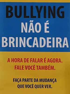 cartaz do bullying (Foto: Malhação / TV Globo)