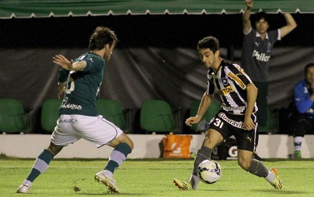 Daniel Botafogo x Goiás (Foto: Vitor Silva / SS Press)