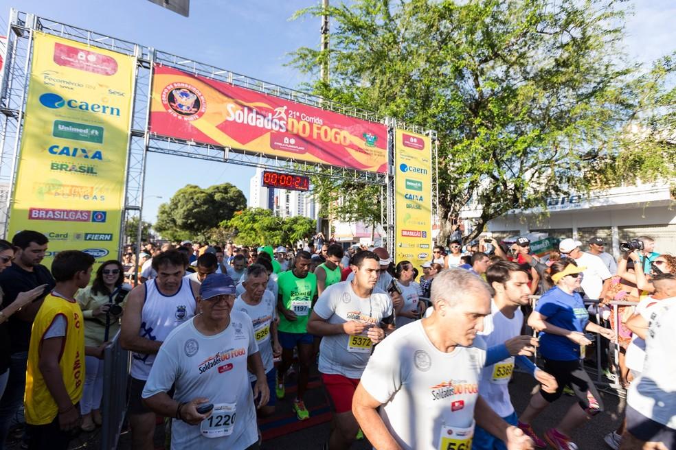 Corrida Soldados do Fogo espera reunir 5 mil pessoas (Foto: Divulgação/CBM )
