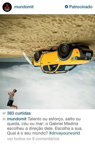 Instagram começa a veicular publicidade no Brasil (Foto: Reprodução/Instragram)