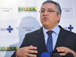 O minsitro da Saúde, Alexandre Padilha (Foto: Elza Fiúza / Agência Brasil)