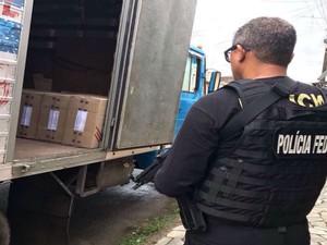 Onze mandados de prisão preventiva são cumpridos pela PF (Foto: Divulgação: Polícia Federal)