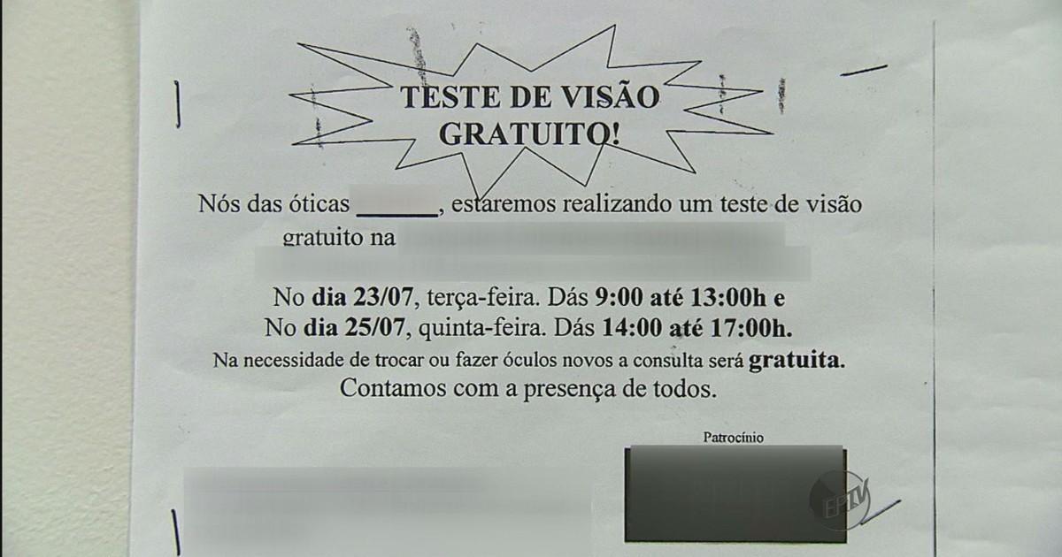 b23d130dc2745 G1 - Óticas oferecem consulta de graça em São Carlos e ferem lei do  consumidor - notícias em São Carlos e Região