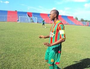 Arlindo Maracanã é o novo capitão do Sampaio (Foto: Afonso Diniz/Globoesporte.com)