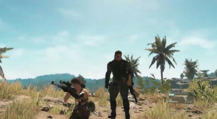 Metal Gear Solid V: The Phantom Pain pode ser visto em novas cenas de gameplay. (Foto: Reprodução/YouTube) (Foto: Metal Gear Solid V: The Phantom Pain pode ser visto em novas cenas de gameplay. (Foto: Reprodução/YouTube))