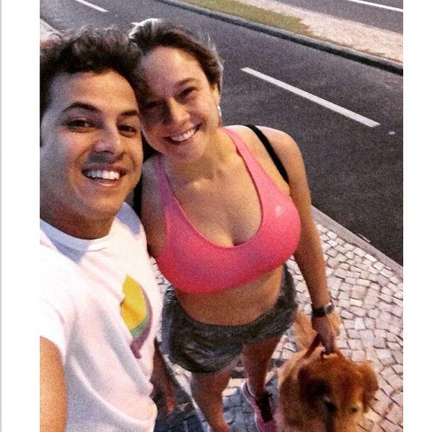 Fernanda Gentil e marido (Foto: Instagram)
