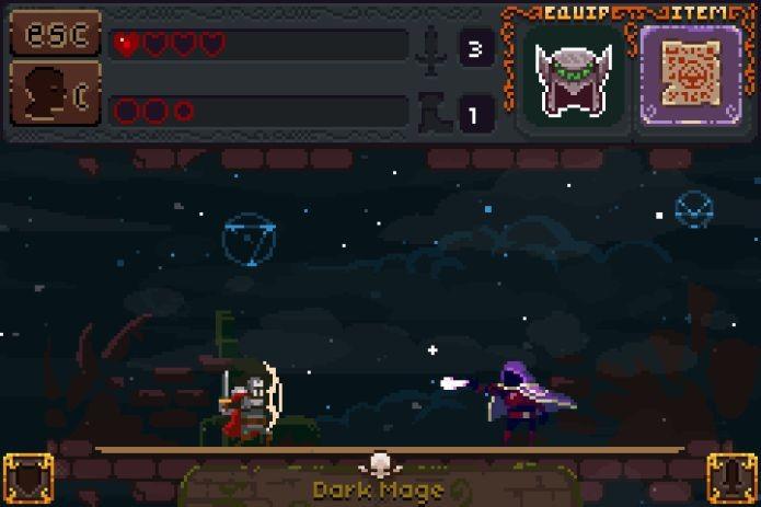 Deep Dungeons of Doom tem um design todo retrô (Foto: Reprodução)