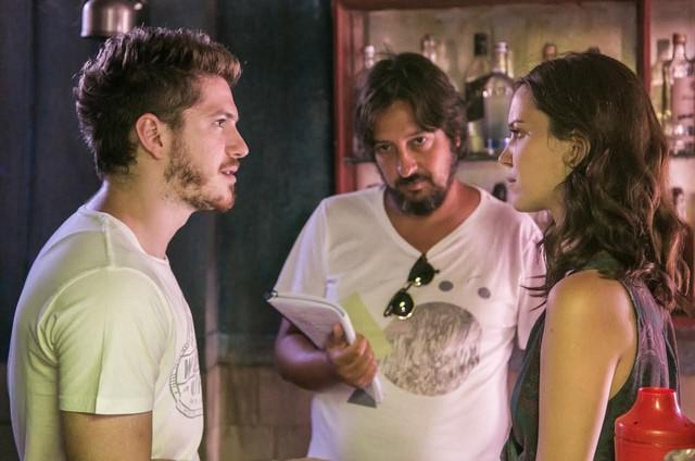 Caio Paduan e Nathalia Dill (Foto: Paulo Belote/ TV Globo)