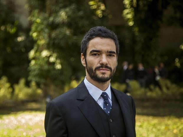 Caio Blat conta como reagiu quando soube que Pedro é Fabrício Melgaço (Foto: Paulo Belote/TV Globo)