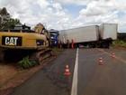 Motorista que provocou acidente na BR-153 estava dirigindo a 125 km/h