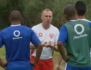 Mogi Mirim Ailton Silva treino Série C (Foto: Carlos Velardi / EPTV)