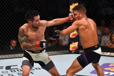 Ray Borg x Geane Herrera (Foto: Getty Images)