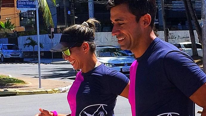 Especial maratona (Foto: Viviane Leão/GloboEsporte.com)